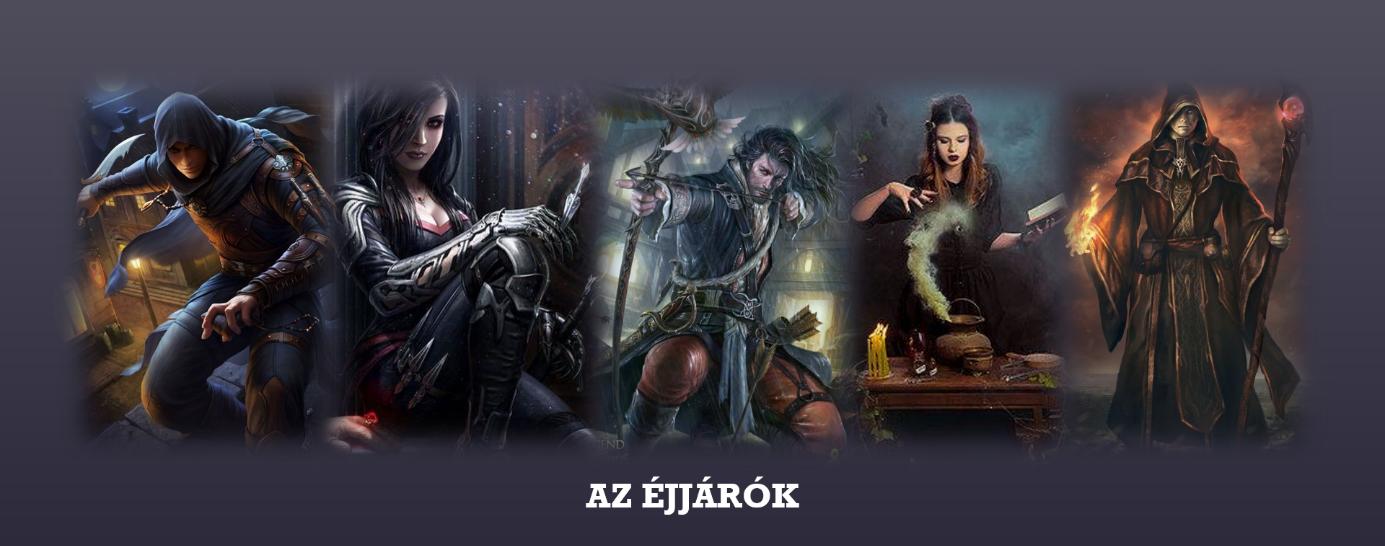 Fejvadászok, bárd, boszorkány és varázsló
