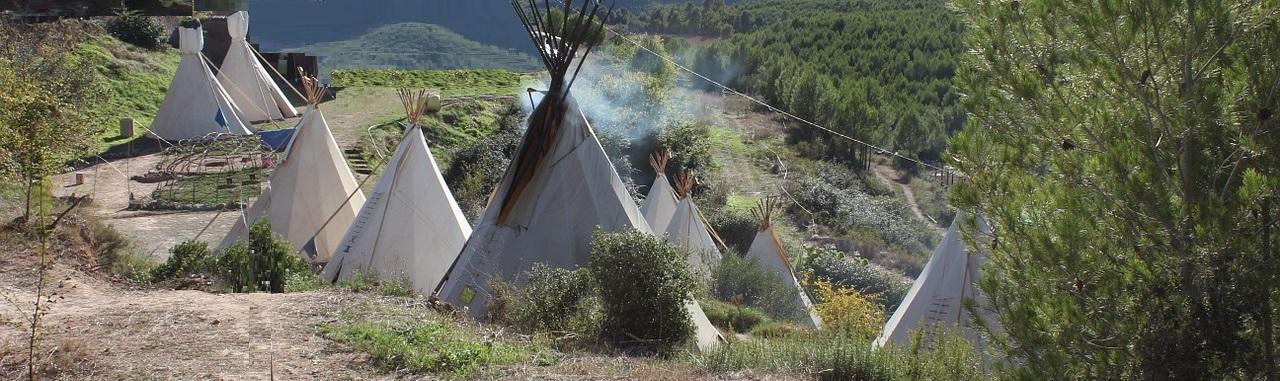 Békés indián falu