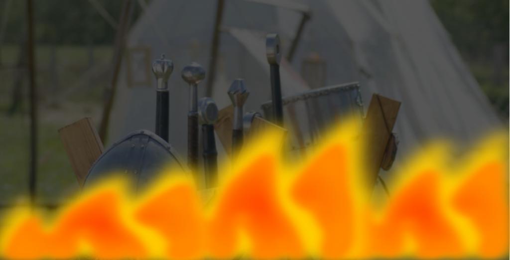 Tábor lángokban